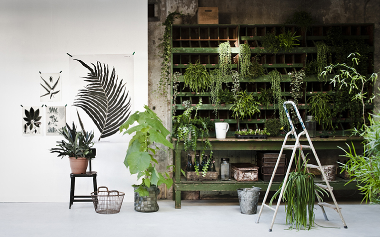 Green post by Ollie and Sebs Haus