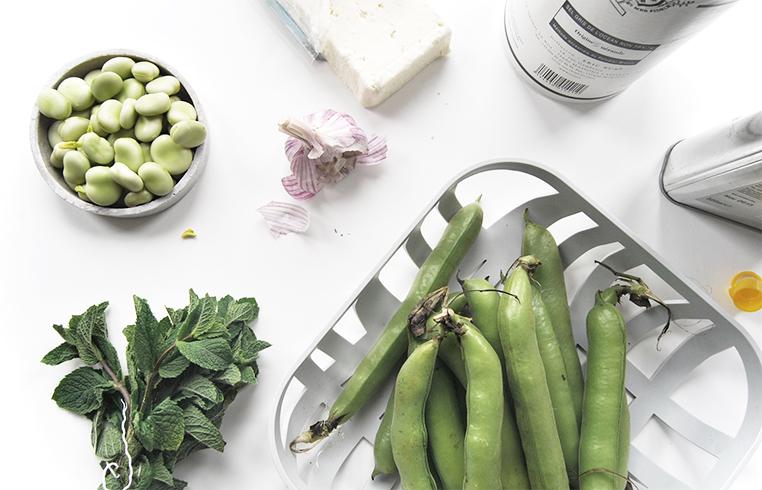 Broad bean and Feta, Post by Ollie & Sebs Haus