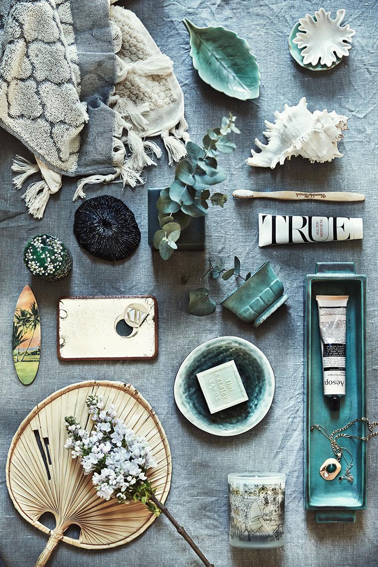 Anna Gillar Bathroom Still Life   via Ollie & Sebs Haus