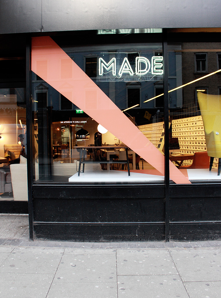 MADE.COM Soho showroom plus Giveaway | Post Ollie & Sebs Haus