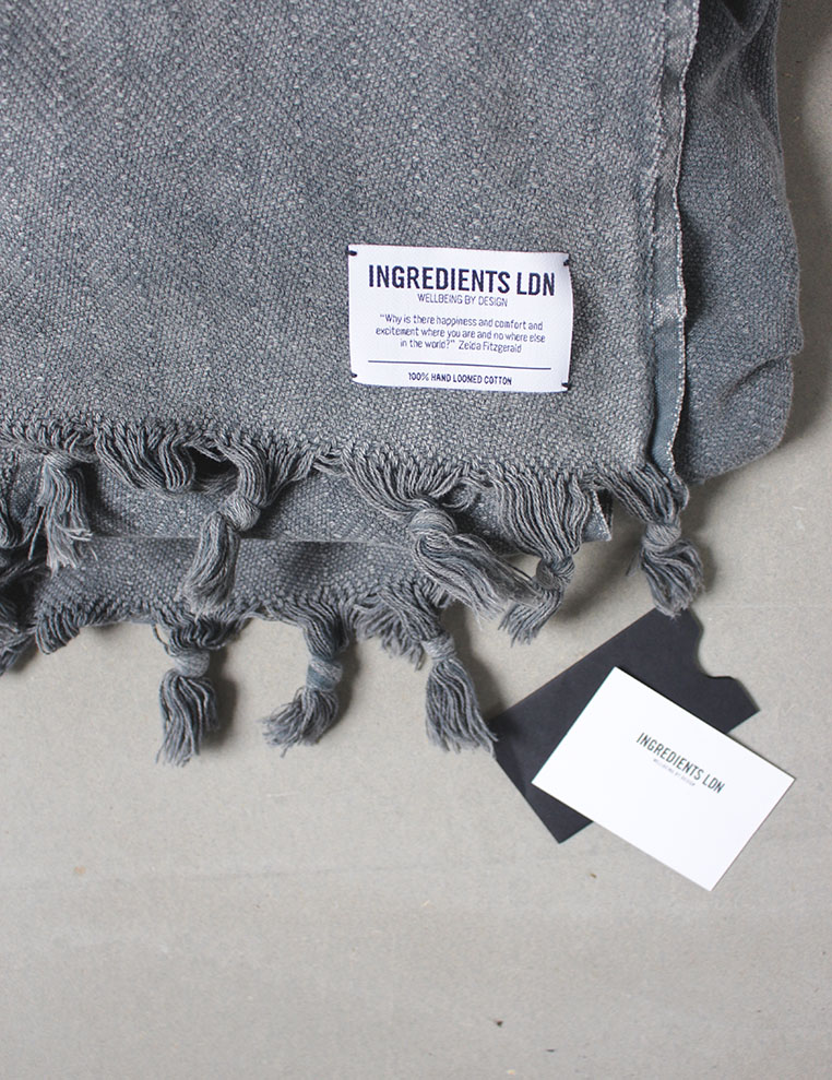 Loomed Cotton from Ingredients LDN post via Ollie & Sebs Haus. GIVEAWAY to be in with a chance to win.