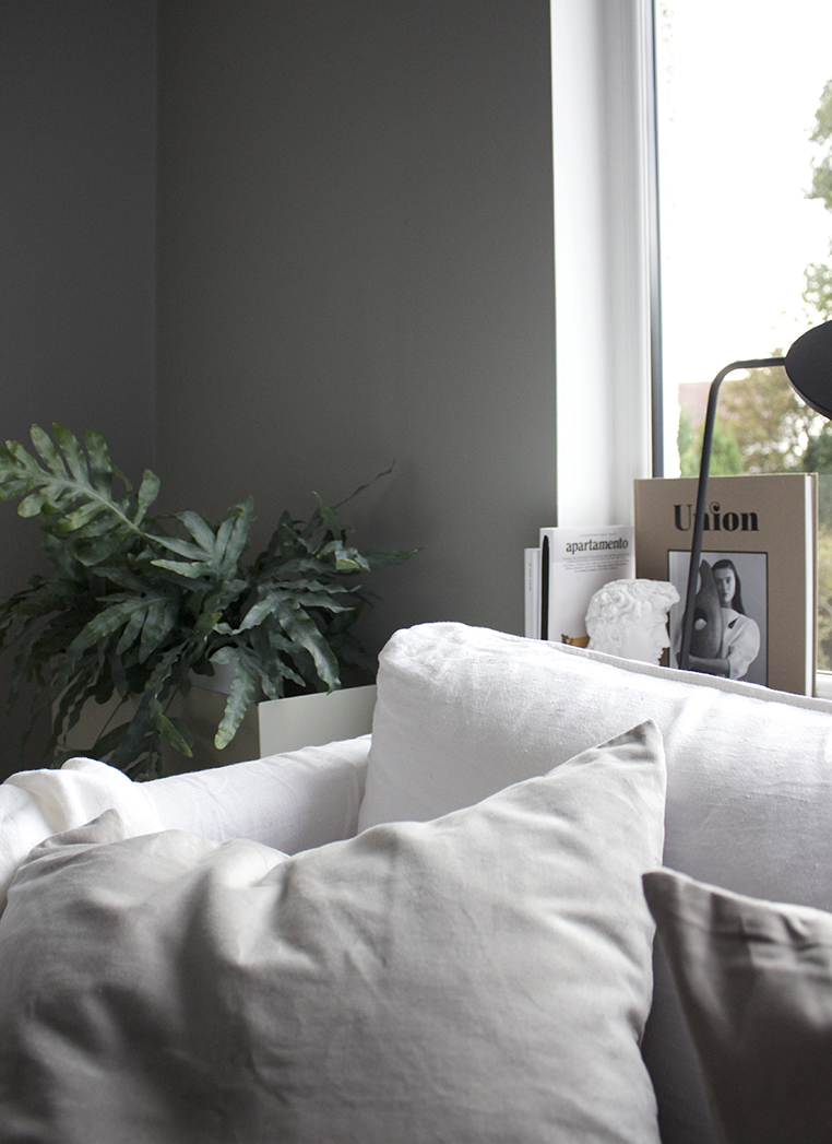 Lamp Room Grey via Ollie & Sebs Haus