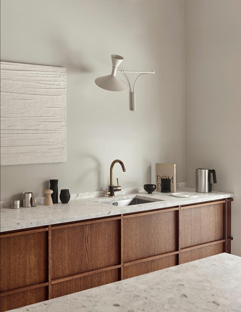 Rustic Minimal Kitchen Via Ollie U0026 Sebs ...