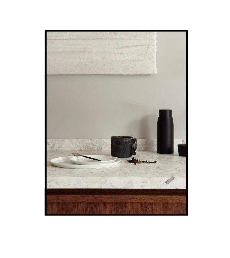 Rustic minimal kitchen via Ollie & Sebs Haus