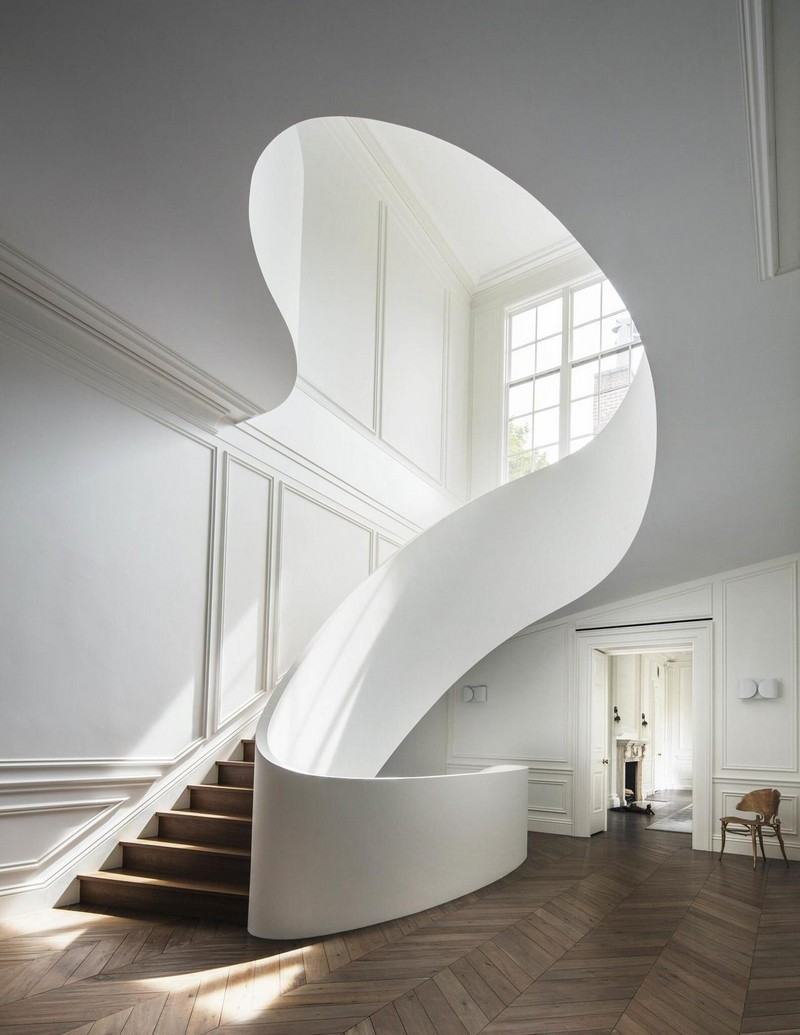 If I could redesign my staircase via Ollie & Sebs Haus