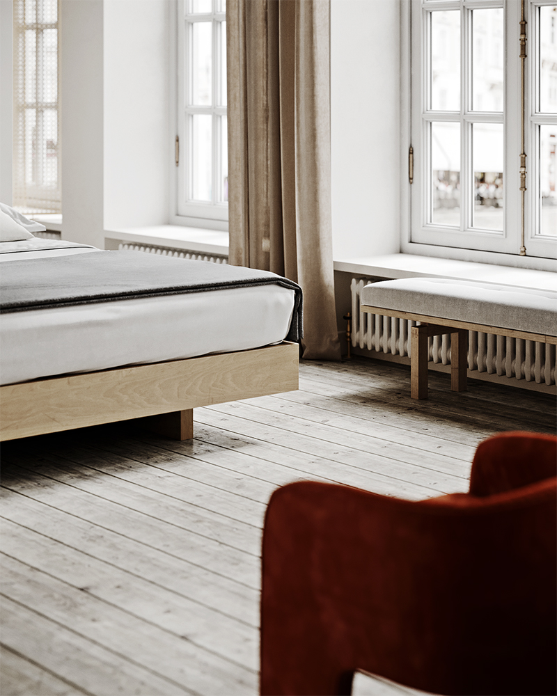 Creating a mindful sleep haven via Ollie & Sebs Haus