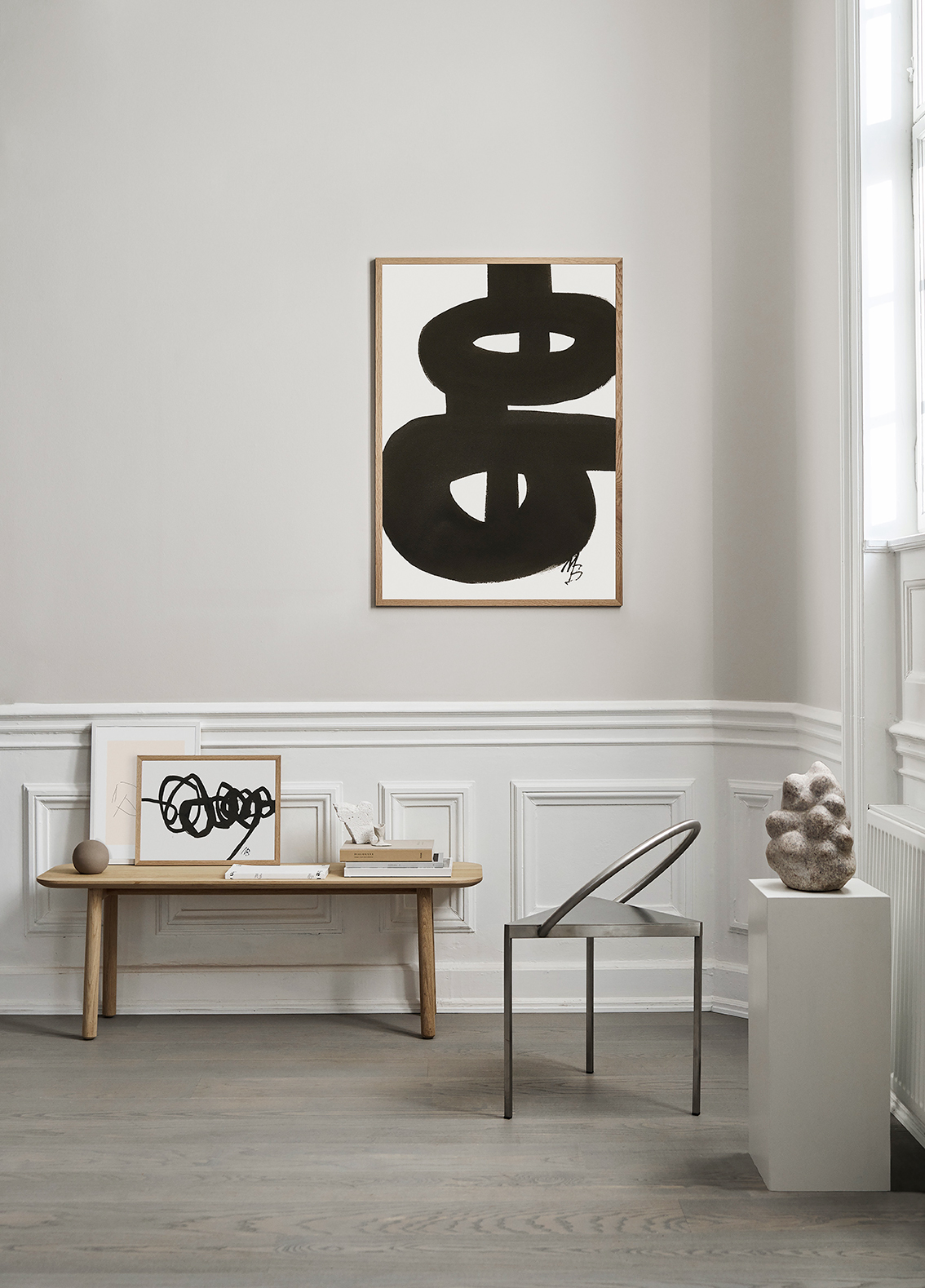 Malene Birger x THE POSTER CLUB via Ollie & Sebs Haus